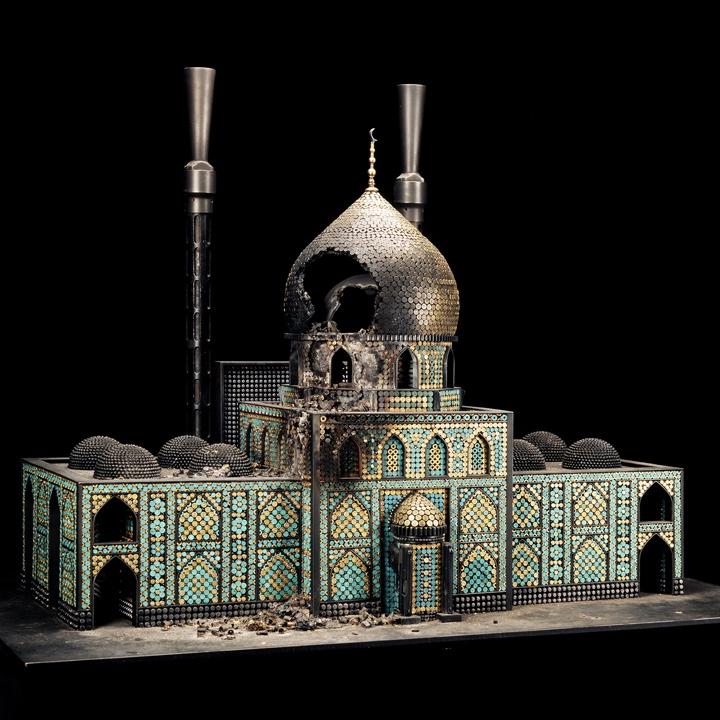 Farrow, Bombed Mosque
