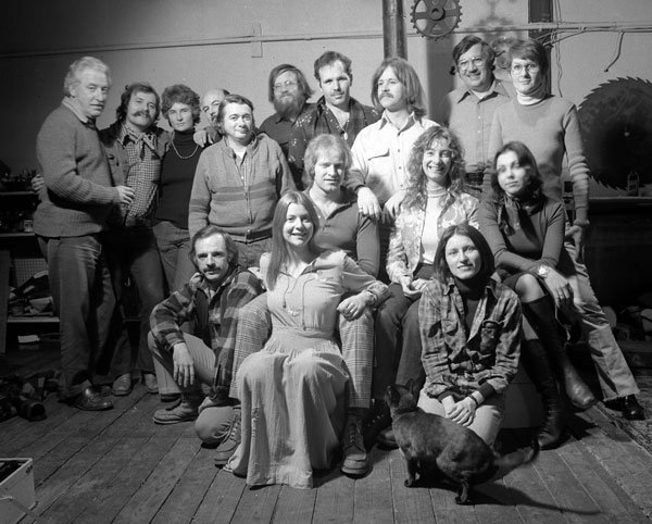 barry 1974 Old Port Artist Show