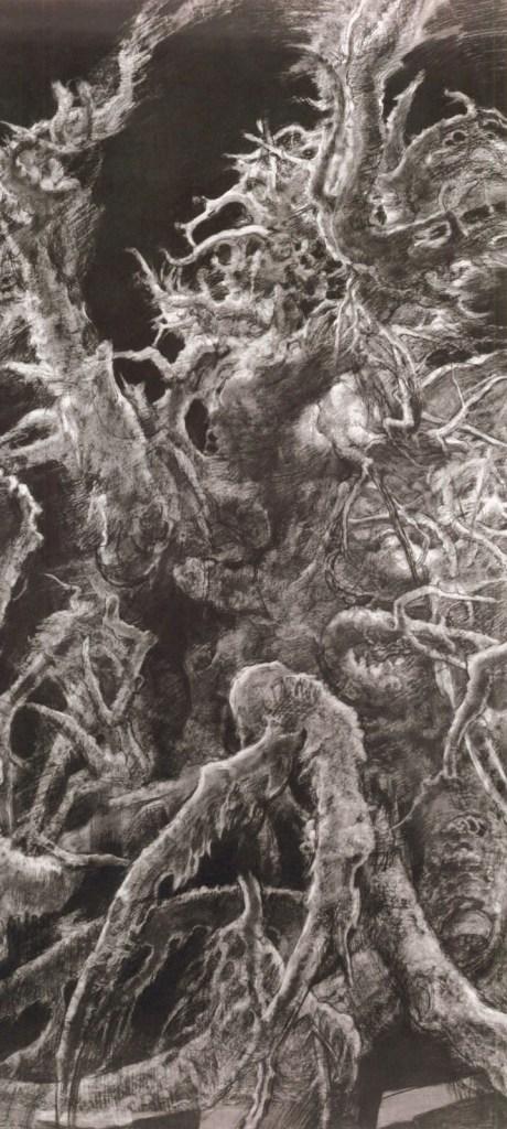 Hyman Bloom, Landscape #3, 1962