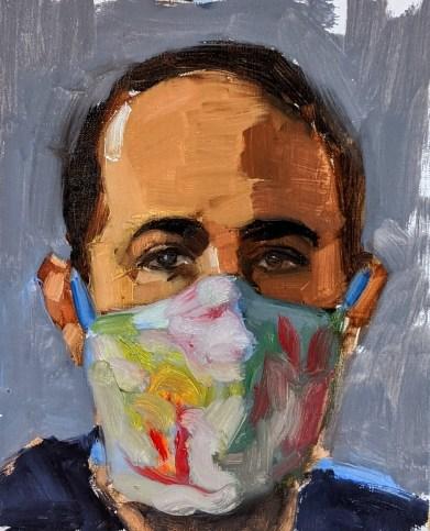 Rabee Kiwan, <i>COVID Self Portrait</i>