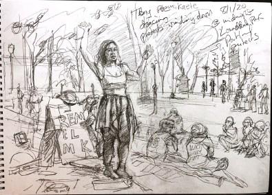 Steve Mumford drawing