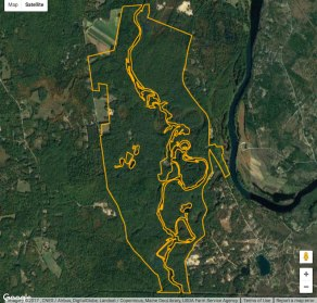 Little Ossipee map