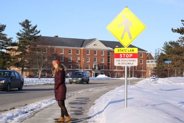 With the recent rise in pedestrian deaths, The University of Maine is partnering with UMPD to launch the Head's Up program.