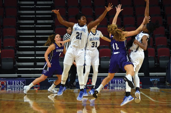 Women's basketball wins exhibition game – The Maine Campus