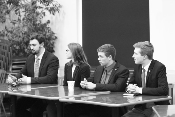 Candidates for Student Government President face off in ...