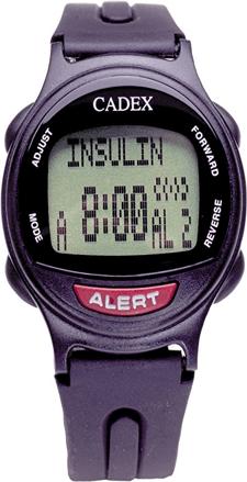 Insulin alert watch