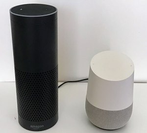 "Amazon Echo and Google Home ""Smart Speakers"""