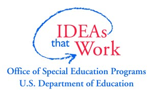 IDEAs that Work - logo from the US Department of Special Education Programs