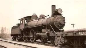 This is the locomotive from the old line between Warren and Union.