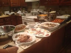 Thanksgiving Dinner--After