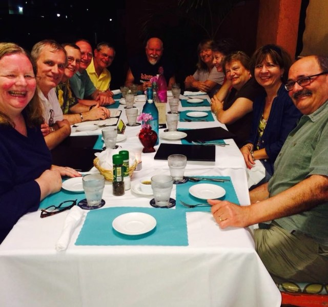 2014 the cousins and spouses in Venice, Florida