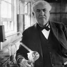 Even Thomas Edison couldn't sit around being all talented and waiting for opportunity to come to him.
