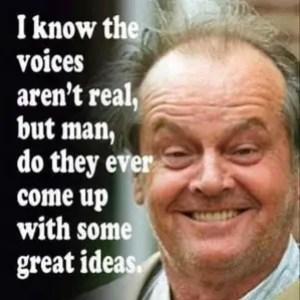 Those Pesky Voices