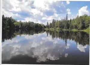 Cross Lake- Square Lake thoroughfare