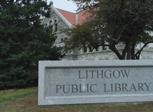 "The ""new"" Lithgow Public Library."