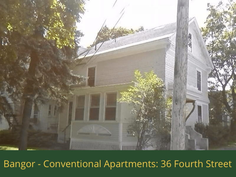 Bangor - Conventional Apartments - 36 Fourth Street: