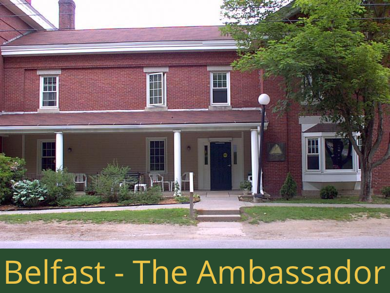 Belfast - The Ambassador: 24 units total – (16) 1 bedroom apartments, (2) 1 bedroom handicap accessible apartments, and (6) 2 bedroom apartments