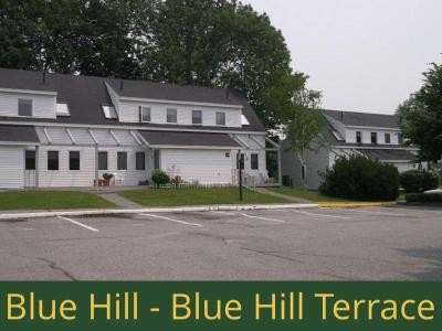 Blue Hill - Blue Hill Terrace: 24 units total - (4) 1 bedroom apartments, (2) 2 bedroom handicap accessible apartments, and (18) 2 bedroom apartments [townhouse style]