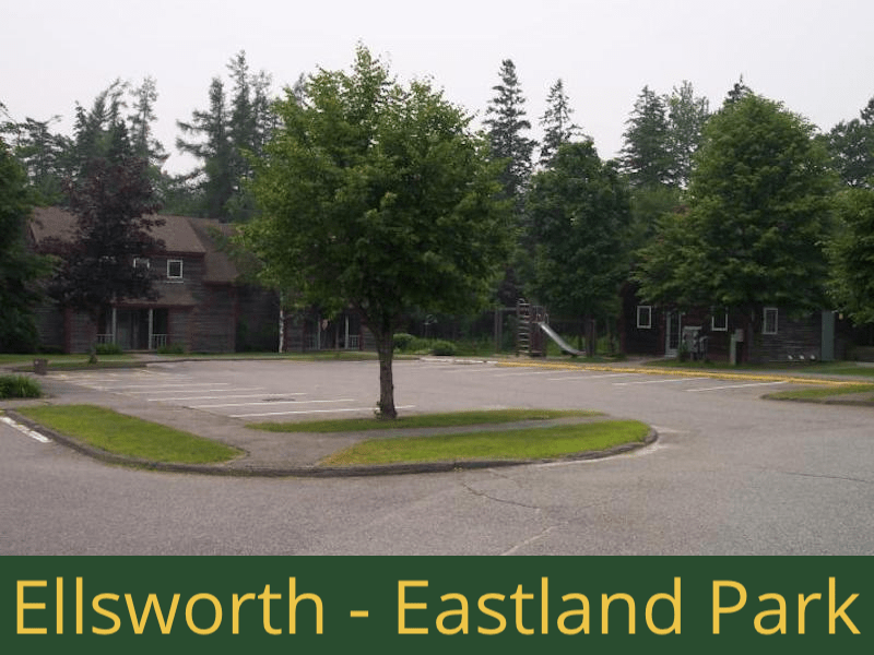 Ellsworth - Eastland Park: 24 units total - (3) 1 bedroom apartments, (1) 1 bedroom handicap accessible apartment, (19) 2 bedrooms apartments, (1) 2 bedroom handicap accessible apartment - [22 units are basic rent and 2 have rental assistance]