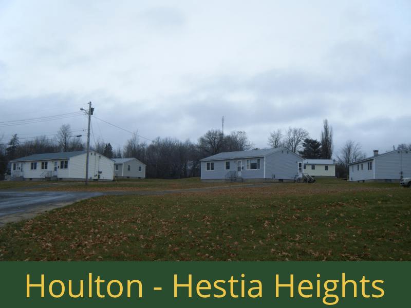 Houlton - Hestia Heights: 20 units total – (6) 1 bedroom apartments, (3) 2 bedroom apartments, (7) 3 bedroom apartments, and (4) 4 bedroom apartments