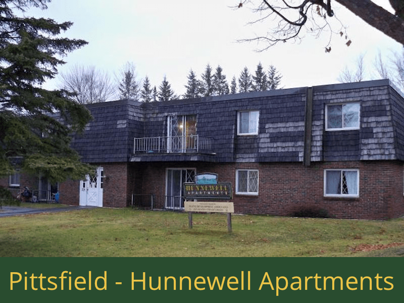 Pittsfield - Hunnewell Apartments: (8) 2 bedroom apartments