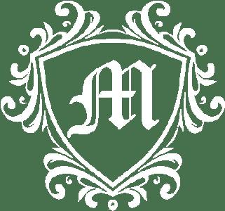 A decorative logo featuring an