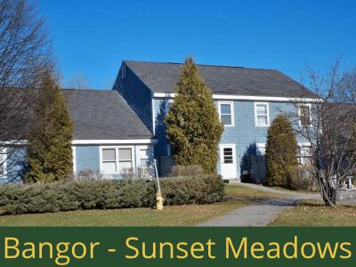 Bangor - Sunset Meadows: 40 units total – (26) 2 bedroom apartments, (2) 2 bedroom handicap accessible apartments, and (12) 3 bedroom apartments