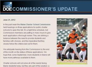 Commissioner's Update cover image