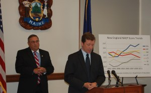 Governor LePage and Commissioner Bowen discuss educational system
