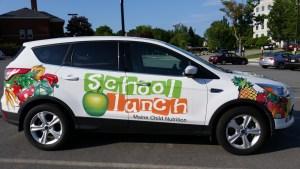 The Maine DOE Child Nutrition Programs car