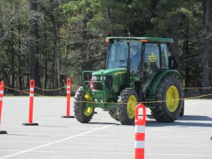 5.Safe Tractor Driving is one of 16 competitions held at the 85th annual Maine FFA State Convention