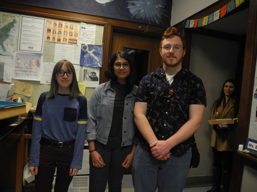 Portland High School Students Present About Their Internships