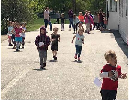 Saco's Young School Loves to Walk