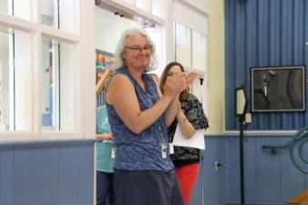 4th Grade teacher Judy Davidson
