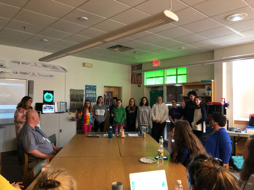 Technology Learning Lab Hosted at Bucksport Middle School