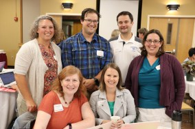 Group picture: Stephanie Hendrix, Renee Doucette, Susan Donaher, Greg Smith, William Putnam, and Kalynda Beal