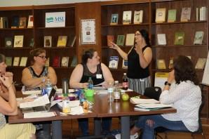 Math teachers convene in the Maine State Library