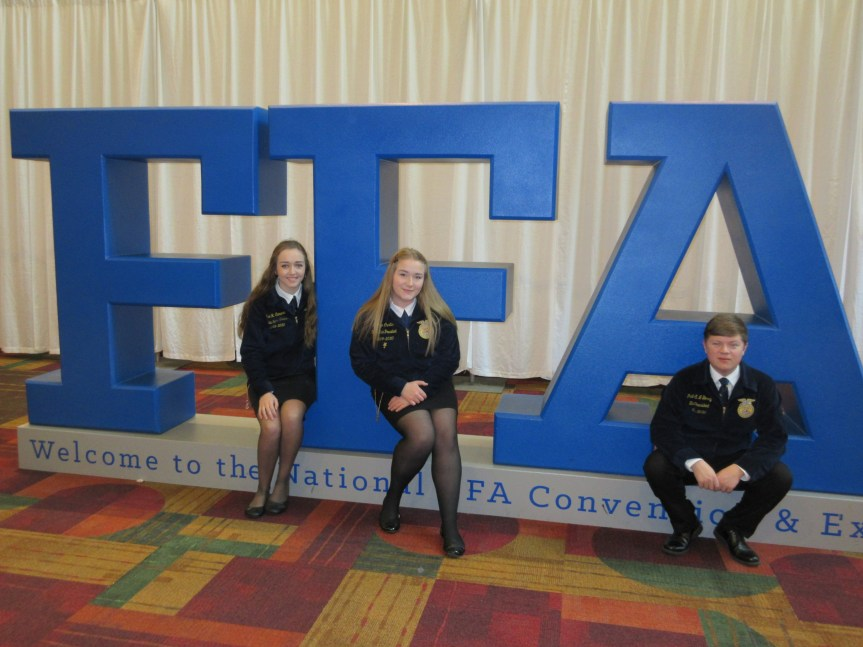 Maine Students Join Nearly 70,000 FFA Members in Indianapolis