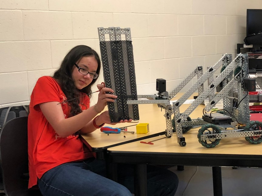 Windham High School Robotics Club has a Successful First Year