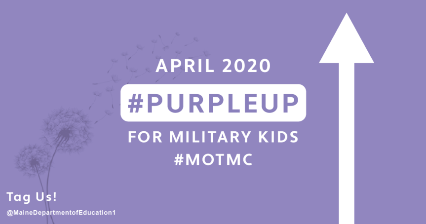 MEDIA RELEASE: Reminder – April is Month of the Military Child