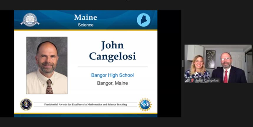 John Cangelosi, Bangor High School