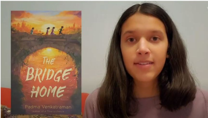 """Read to ME Challenge Student Video Reading, """"The Bridge Home"""""""