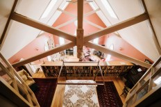 upstairs loft
