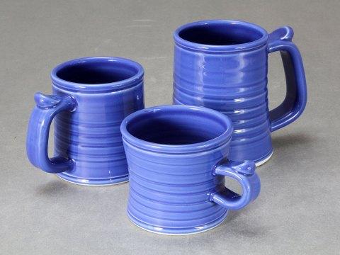 Mug | Tankard Group — Blue Celadon Glaze