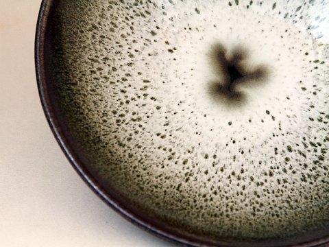 Oil Spot Glazed Bowl