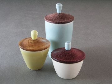 Wood Lid Cup Group