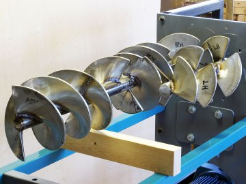 Pug Mill Augers
