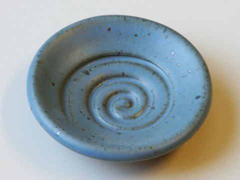Spiral Dish — Glaze Sample