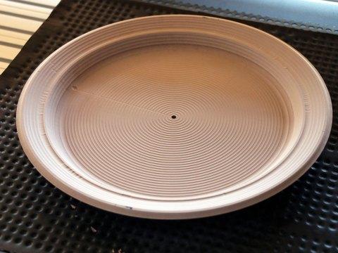 CNC Milled Dinner Plate Model