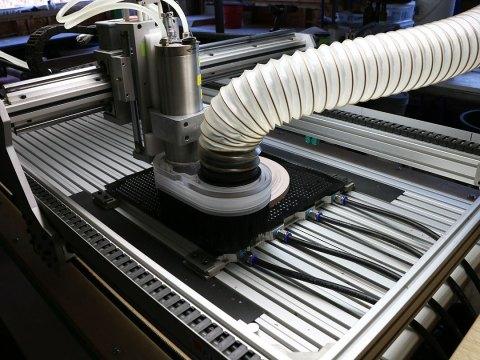 CNC Milling Dinner Plate Model